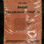 Saggi sull'Idealismo Magico, J.Evola 1925 Atanòr (Todi-Roma)
